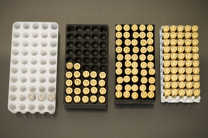 9mm ammo Trays Compared