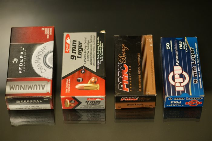 9mm ammo packaging compared