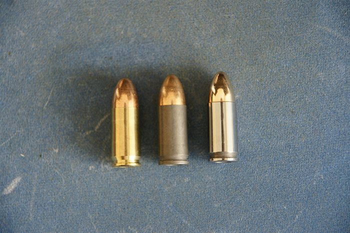 9mm brass cased vs 9mm steel cased vs 9mm polished steel cased ammo