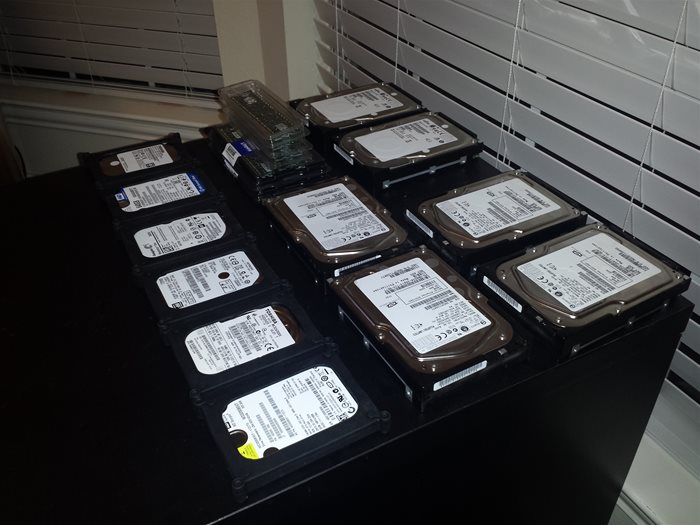 Ebaying Hard Drives, Server, RAID Controller, Computer Parts