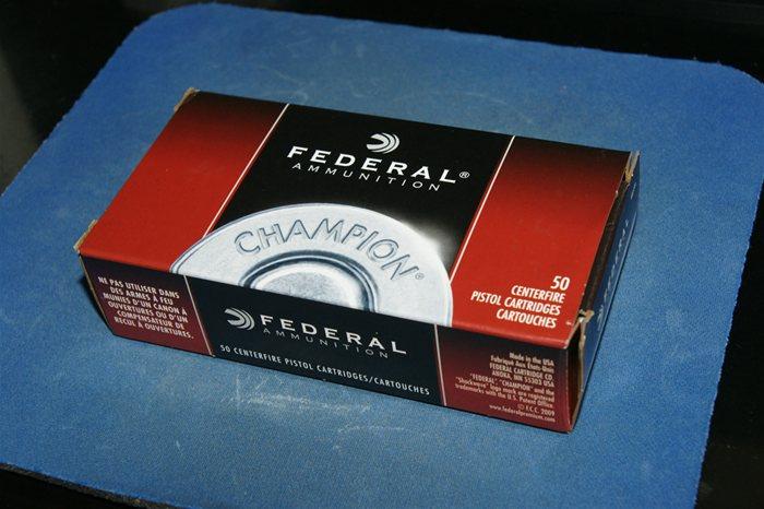 Federal 9mm Ammo