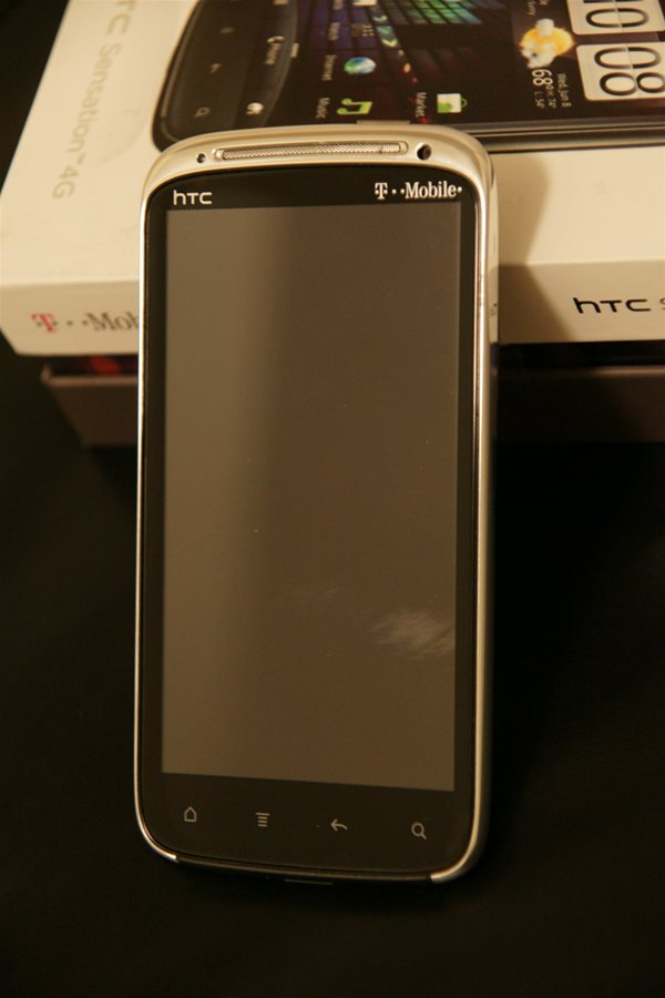 HTC Sensation 4G Chrome Polished Frame