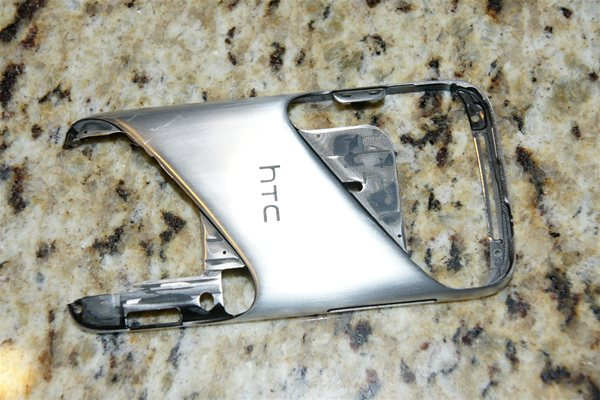 HTC Sensation 4G frame satin finish