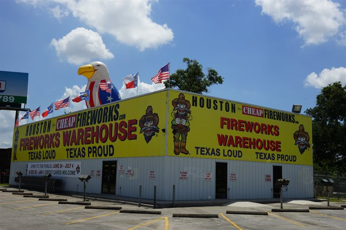 The Cheapest place to buy Fireworks in Houston