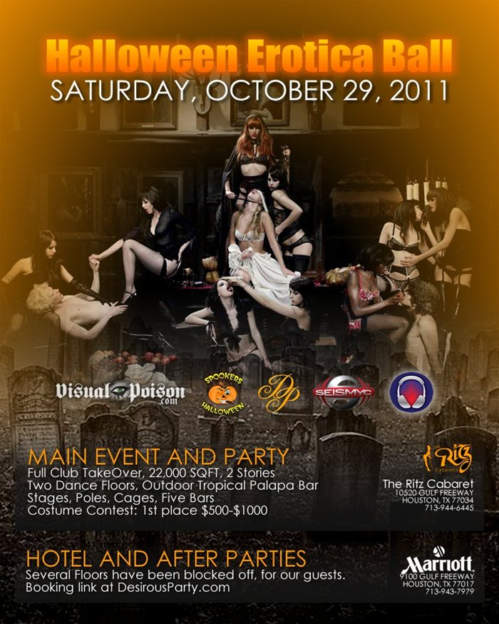 The Wildest Halloween Party in Houston for 2011