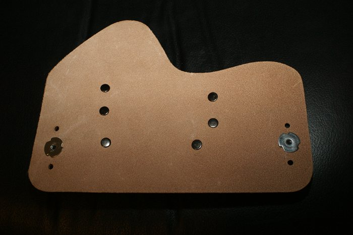 IWB Crossbreed Supertuck style Holster back side