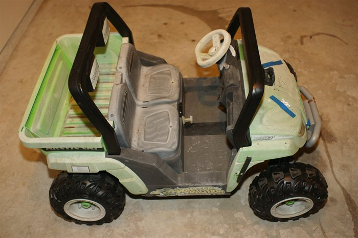 PowerWheels Jeep Before Restoration Side