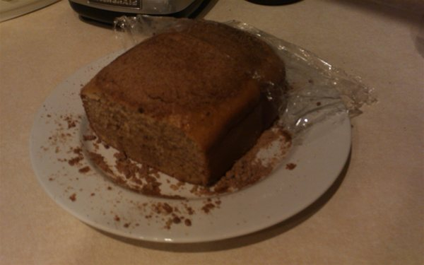 Starbucks Pumpkin Loaf vs Kroger Pumpkin Loaf in Bread Maker