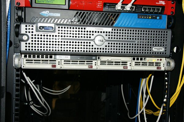 Rack Server at Internap Houston Data Center