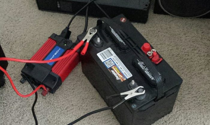 Redneck backup power solution instead of UPS