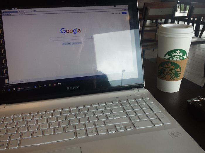 Top Google Search Queries while sitting at Starbucks