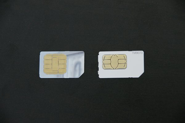 T mobile 2G Sim Card vs 3G Sim Card Connectors