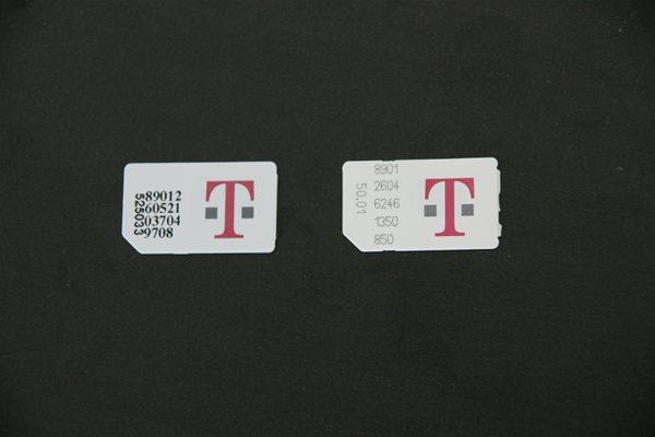 T mobile 2G Sim Card vs 3G Sim Card