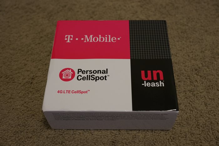 Tmobile 4G LTE Cellspot review
