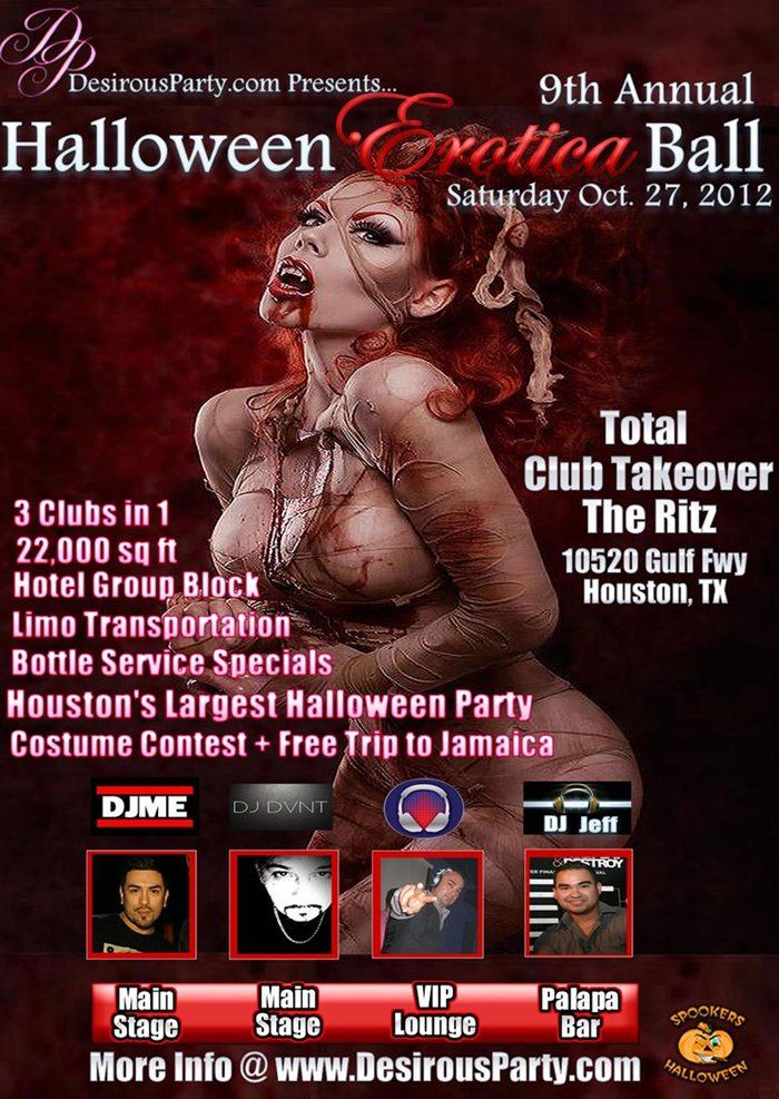 Best Halloween Party in Houston