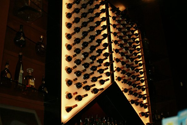 Wine rack chandelier thejots wine rack chandelier chandelier online lighting ideas aloadofball Images