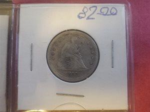 1857 Quarter