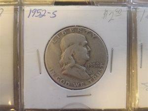 1952 Half Dollar