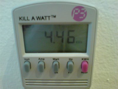 Killawatt on window Air conditioner