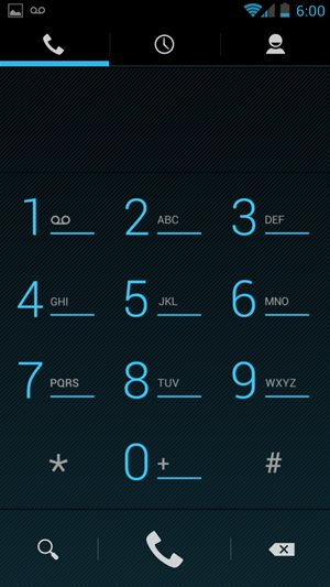 Android 4.0 Dialer