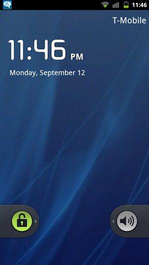 HTC Sensation 4G Cyanogenmod 7 / AOSP Lock Screen