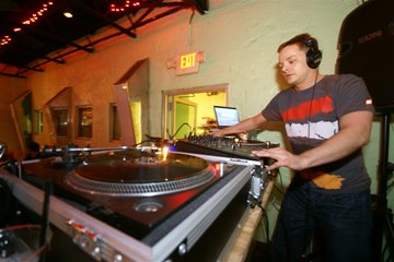 Houston DJ Eddie Spettro